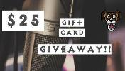 ONE LUCKY WINNER WILL RECEIVE.. 1x $25 Gift Card to the place of their choosing!
