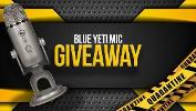 ONE LUCKY WINNER WILL RECEIVE..1x Blue Yeti Mic, choice of color available on Blue Microphone website.