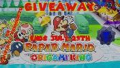 ONE LUCKY WINNER WILL RECEIVE..1x DIGITAL code Paper mario the Origami King!!