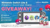 One Lucky Winner Will Receive:  Nintendo Switch Lite & Pokémon Sword and Pokémon Shield Double Pack + One Runner Up Will Receive:  Pokémon Sword and Pokémon Shield Double Pack!!