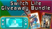 ONE LUCKY WINNER WILL RECEIVE.. -Switch Lite (Console) ; -Pokemon Sword (Game) & -Brothers: A Tale of Two Sons (Game)!!