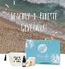 One lucky winner will receive the Beachly Fall Box (Retail Value $200+) and PIRETTE Prize Pack (Retail Value $92) including: Dry Body Oil, 6.65 oz. All Natural Soy Wax Candle with Wood Wick and a Canvas Tote Bag