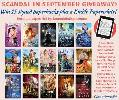 One lucky winner will win FIFTEEN signed print books, PLUS a Kindle Paperwhite e-reader!