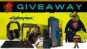 One Lucky Winner Will Win :XBOX One X Cyberpunk 2077 Limited Edition, XBOX One Cyberpunk 2077 Controller Controller Gear, Cyberpunk 2077 Charging Stand ,Turtle Beach Gaming Headset...+ so much more...!!
