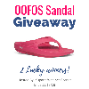 OOFOS Sandal Giveaway