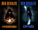 Paperback copies of Possessed & Exposed by Ben DeValve
