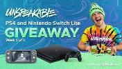 PlayStation 4 -5 winners & Nintendo Switch Lite -5 winners!