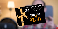 Prizes Include: ​$100 Amazon.com Gift Card (1 Winner!) $100 Amazon.com Gift Card (1 Winner!) Samsung Galaxy Smartwatch  (1 Winner!)