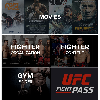 Quick Look at App: Movies, Fighter Organization, Fighter Contest, UFC Fight Pass, Gym Finder
