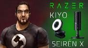 Razer Seiren X and Razer Kiyo
