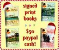 Signed Books + $50 Cash