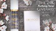 The 24K Purifying Toner Giveaway