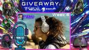 The Giveaway will be a random Turtle Beach or ROCCAT product each week!
