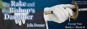 The Rake and the Bishop's Daughter by Julia Donner Exclusive Excerpt & Gift Card Giveaway
