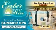 The Ultimate Pure Radiance Summer Spa Anti-Aging Prize Package Giveaway