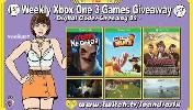 "Weeky Giveaway of Xbox Games for: Game ""Secret Neighbor"" (Xbox One); Game ""Save Your Nuts"" (Xbox One) & Game ""Flying Tiger Over China"" (Xbox One)!"