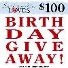 Win $100 in Paypal Cash or an eGift Card of Choice!
