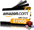 Win $1000 Amazon gift card