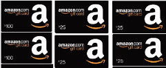 Win $200 in Amazon Gift Cards