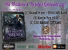 """Win 2x Grand Prize winners of a $250 Gift Card; 2nd place - Kindle Fire HD 8"""";3rd Place - $50 Amazon Gift Card"""