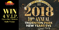 Win 4 VIP Tickets to the Thornton Park New Years Eve Street Party 2018