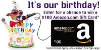 WIN a $100 Amazon.com Gift Card