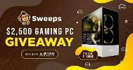 Win a $2,500 Gaming PC!