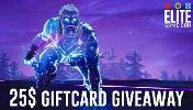 Win a 25$ PayPal or giftcard of your choice!