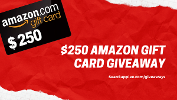 Win a $250 Amazon Giftcard!!