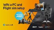 WIN a £4000 3XS PC setup with Flight Simulator Accessories + Microsoft Flight Simulator Deluxe Edition!! Sponsored by NZXT!