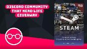 Win a $50 Steam Gift Card!