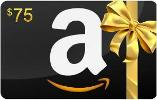 Win a $75, $50 or $25 Amazon Gift Card!