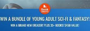 WIN A BUNDLE OF YOUNG ADULT SCI-FI & FANTASY! WIN A BRAND NEW EREADER! PLUS 35+ BOOKS! $450 VALUE!
