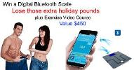 Win a Digital Body Fat Scale and Video Exercise Programme