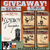 Win a first edition copy of A Very Unusual Romance or all four books in The Cowboy and the Vampire Collection - two winners!