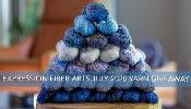 Win a GLORIOUS Hand-Dyed Yarn bundle!!