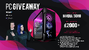 Win a high performance gaming PC including the brand new NVIDIA RTX3080!!