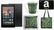 WIN a Kindle Fire 7, Amazon gift card and more!