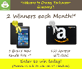 "Win a Kindle Fire 7"" or $50 Amazon Gift Card - 2 Winners!"
