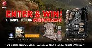 Win a MSI Z270 CAMO SQUAD Motherboard & CAMO SQUAD Goodie Bag & GHOST RECON GAME