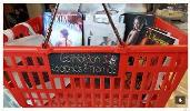 Win a personal Shopping Basket filled with books, swag & $75 Amazon GC!