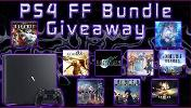 Win a PS4 Pro Final Fantasy Giveaway Bundle! Including a -PS4 Pro , -FINAL FANTASY® XIV Online Starter Edition,FINAL FANTASY X/X-2 HD Remaster & lots more...