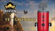 Win a  Red Blue Yeti Microphone!!