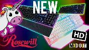 Win a Rosewill K51 Neon Gaming Keyboard
