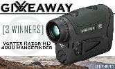 Win a Vortex Razor HD 4000 Rangefinder-3 winners!!