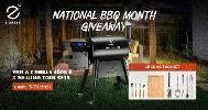 Win a Z Grills 450B Pellet Grill & Accessories Combos - 4 Winners