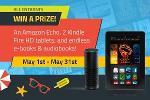 Win an Amazon Echo, Kindle Fire HD and more