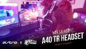 Win an Astro A40 TR Headset!