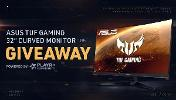 "Win an awesome  ASUS TUF Gaming 32"" Curved Monitor!!"