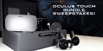 Win an Oculus Rift with Touch Controllers
